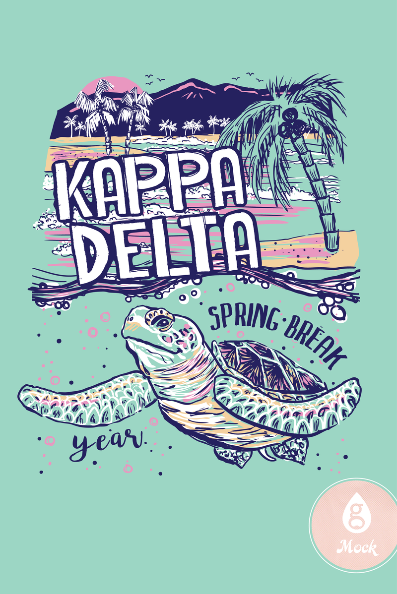 Kappa Delta Turtle Time