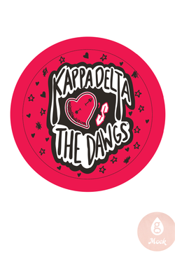 Kappa Delta Sticker HeartsDawgs