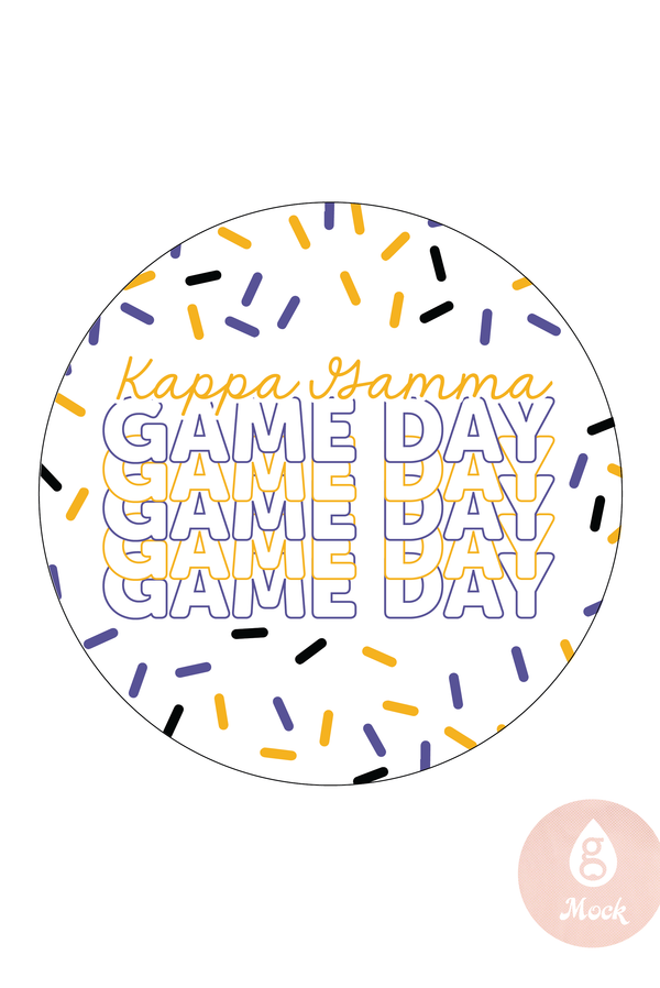 Kappa Kappa Gamma Game Day Repeat