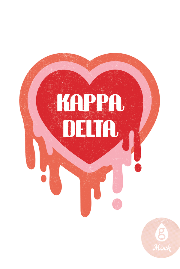 Kappa Delta Melting Heart
