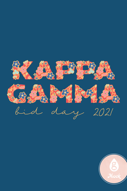 Kappa Kappa Gamma Name in Flowers