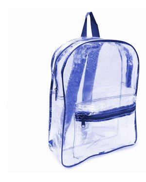 Liberty Bags 7010 Clear PVC Backpack