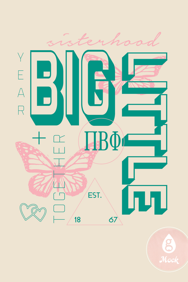 Pi Beta Phi Big Little Collage