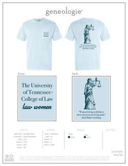 Tennessee Law Women PR 1 $17.25