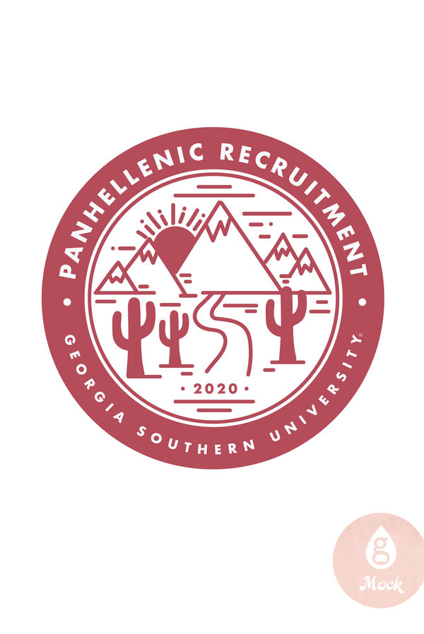 Panhellenic Recruitment Patch
