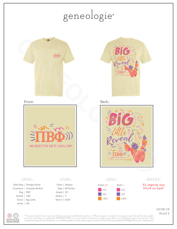 Pi Beta Phi Big Little $18.00
