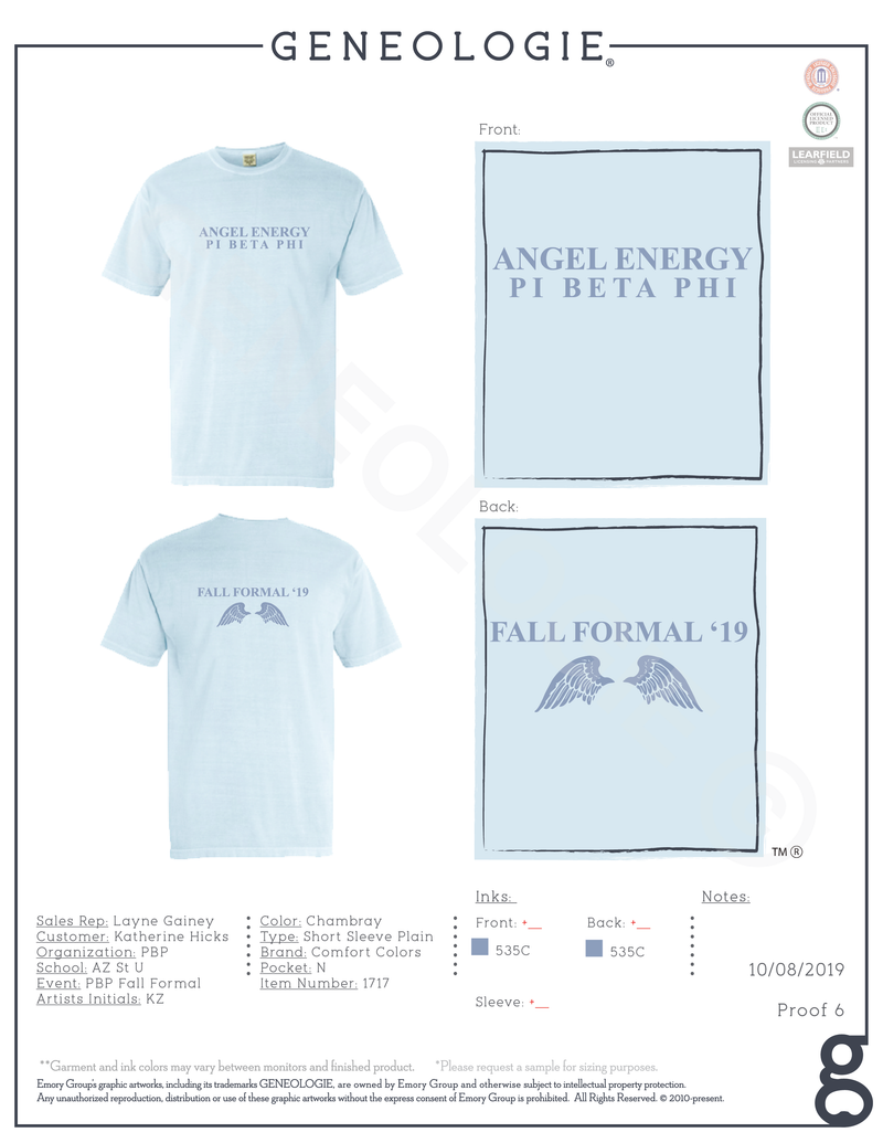 Pi Beta Phi Fall Formal $17.00