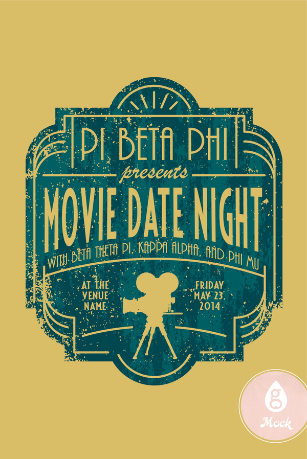 Pi Beta Phi Movie Date Night