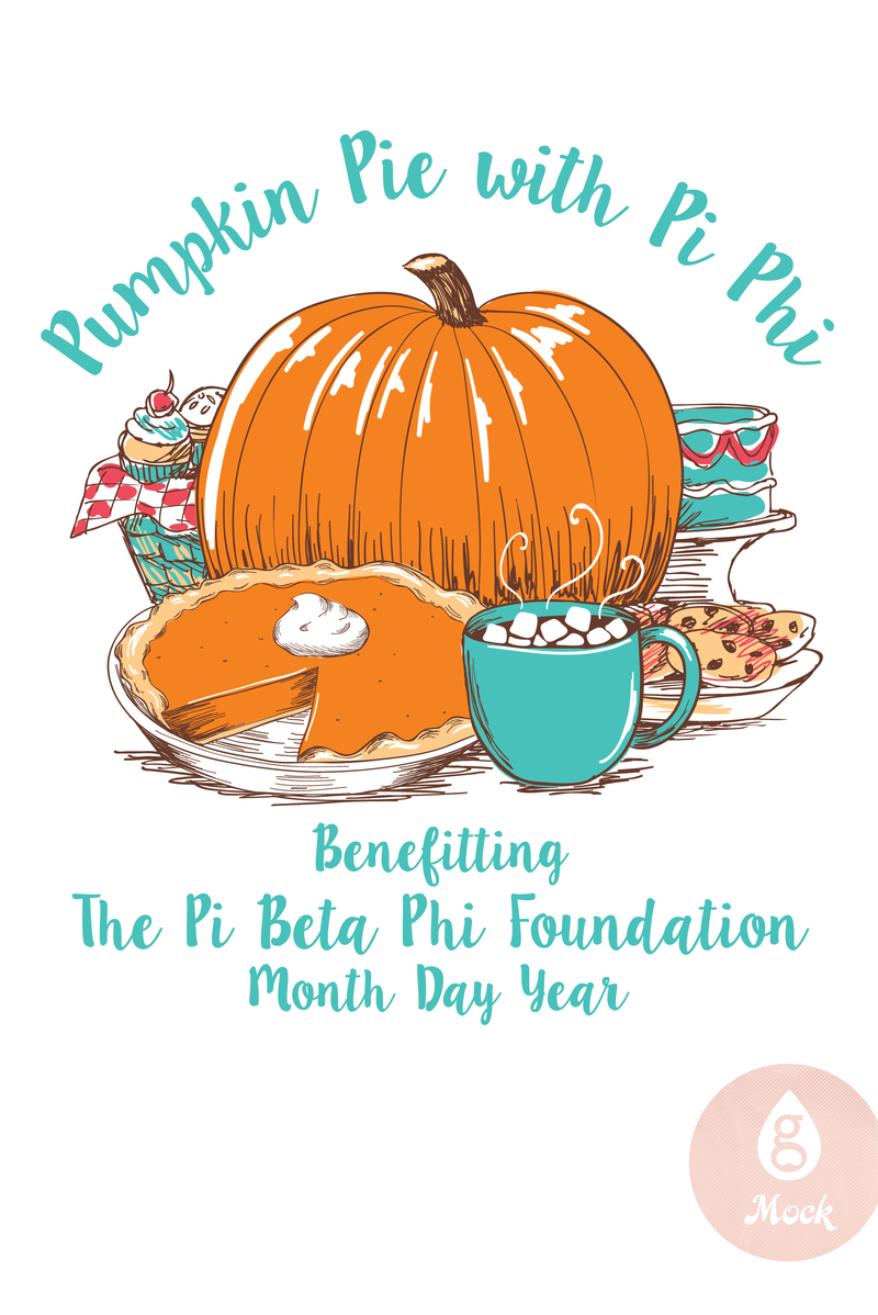 Pi Beta Phi Fall Philanthropy Pumpkin Pie FA25