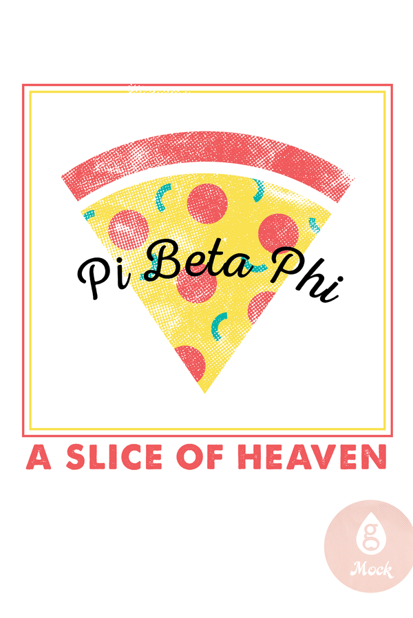 Pi Beta Phi Pizza Slice