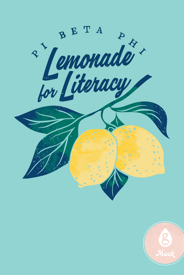 Pi Beta Phi Lemonade for Literacy