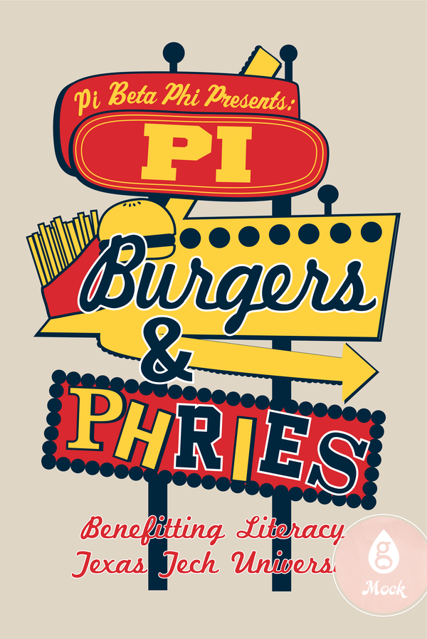 Pi Beta Phi Philanthropy Burgers And Fries