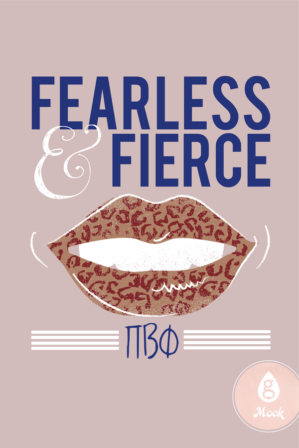 Pi Beta Phi Fearless & Fierce