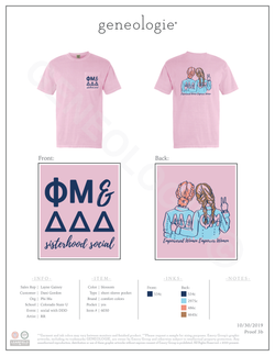 Phi Mu Social with Tri Delta $17.85