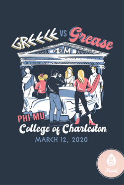 Phi Mu Mixer Greece vs Grease
