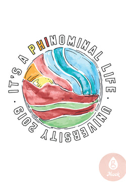 Pi Beta Phi Phinominal Watercolor