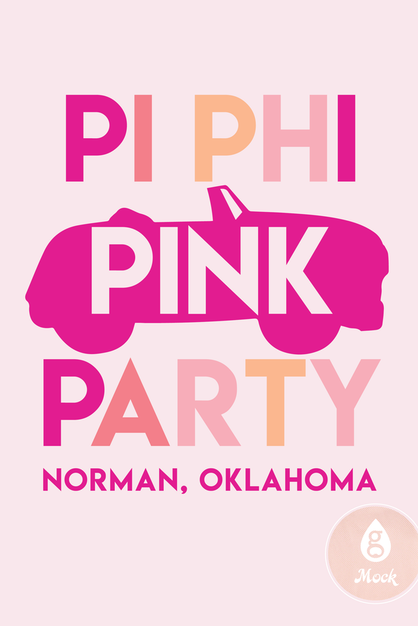Pi Beta Phi Pink Party