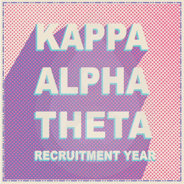 Kappa Alpha Theta Color Punch