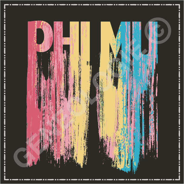 Phi Mu Spray Paint R337