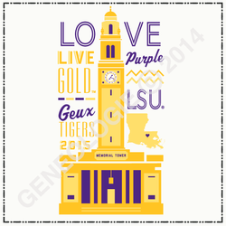 School Collage - LSU