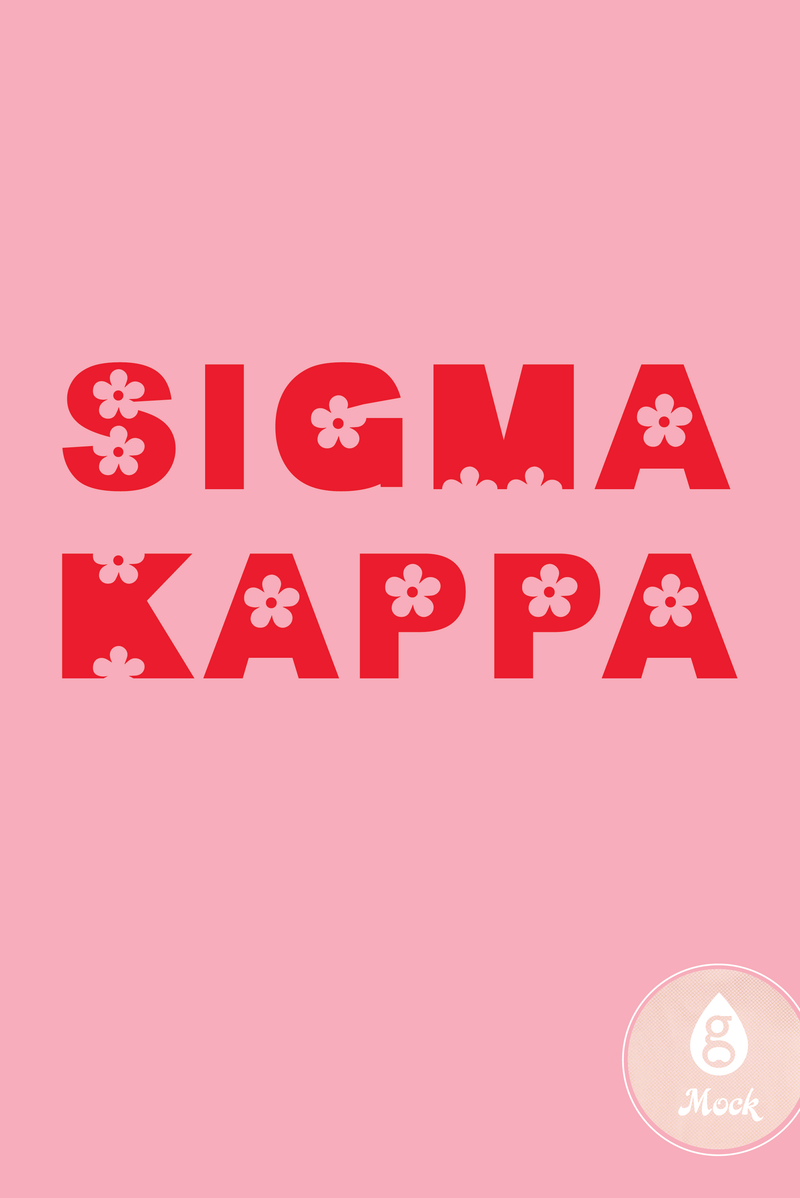 Sigma Kappa Flower Power
