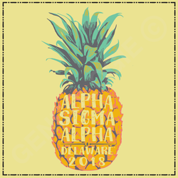 Alpha Sigma Alpha with Pineapple SN307