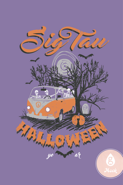 Sigma Tau Gamma Halloween VW Bus