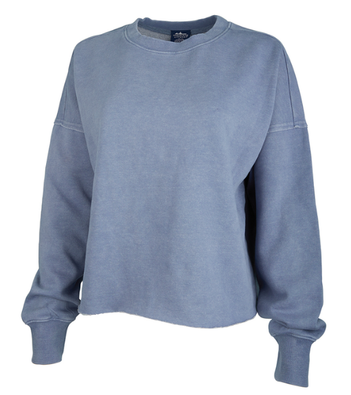 Charles River Clifton Distressed Boxy Sweatshirt
