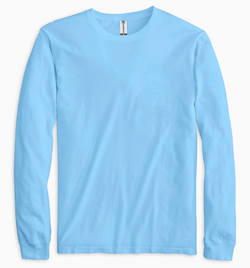 Soft Shirts 220 Garment Dyed Long Sleeve Tee