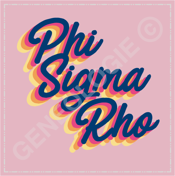 Phi Sigma Rho Layered Type