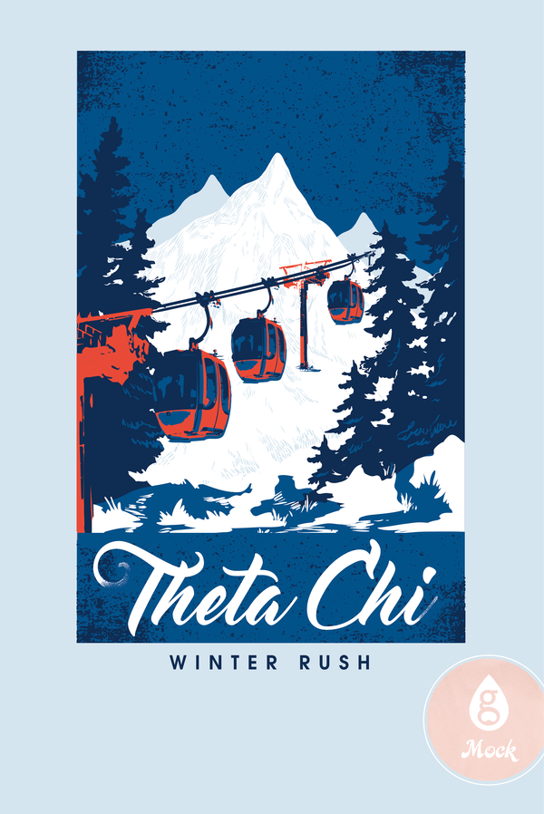 Theta Chi Winter Rush Skylift