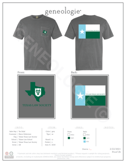 Tulane Texas Law Society $20.00