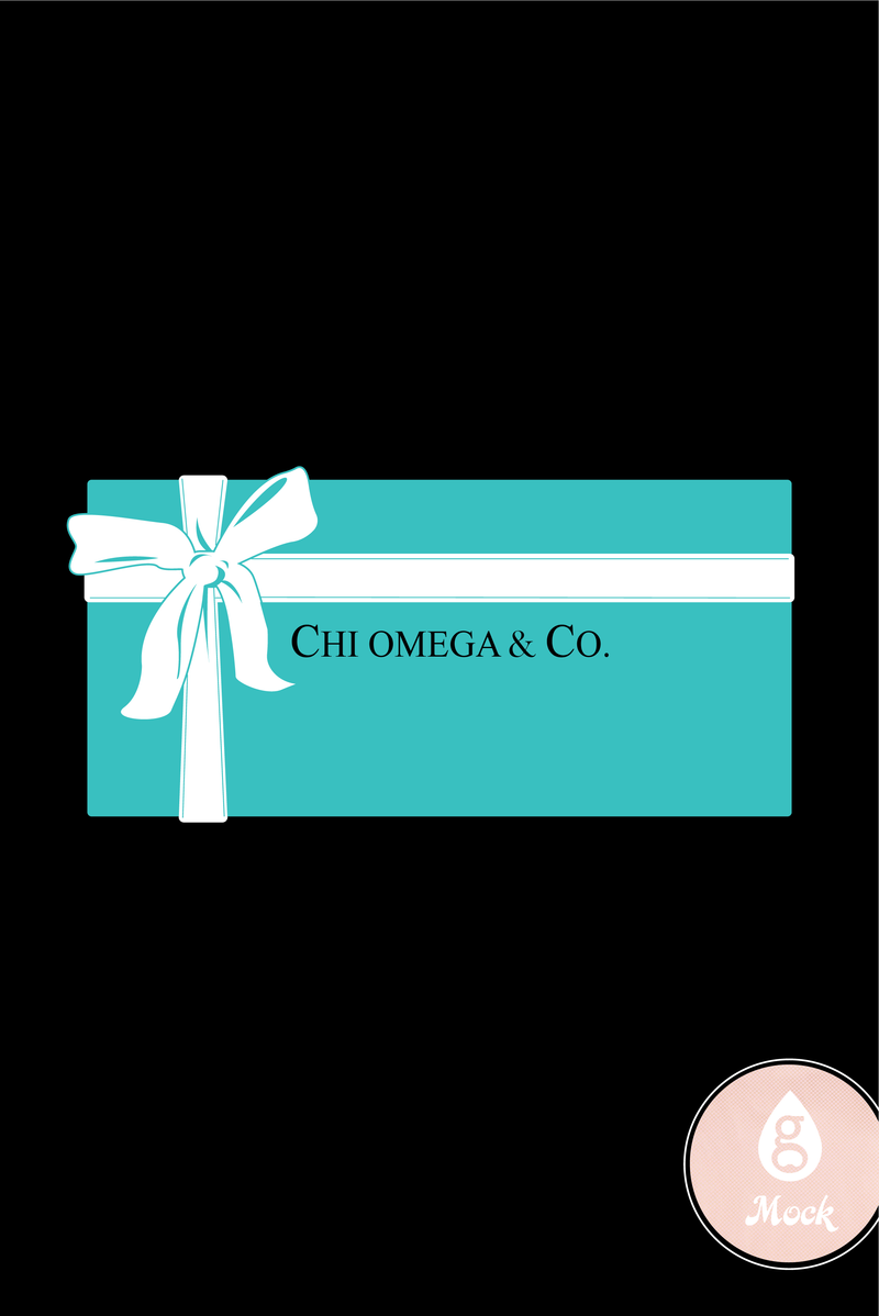 Chi Omega Tiffany & Co. Bid Day