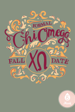 Chi Omega Whimsy Fall Formal