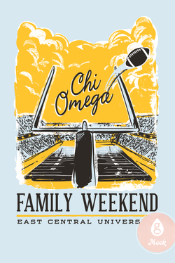 Chi Omega Family Weekend Stadium