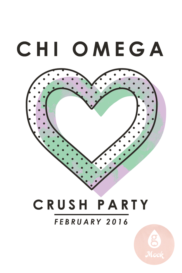 Chi Omega Simple Crush
