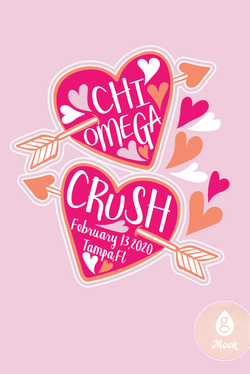 Chi Omega Cupid Crush