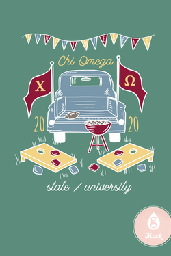 Chi Omega Family Weekend Tailgate