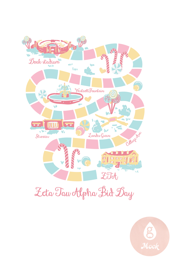 ZTA Bid Day Candy BD337