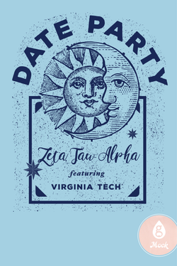 Zeta Tau Alpha DateParty Moon and Sun