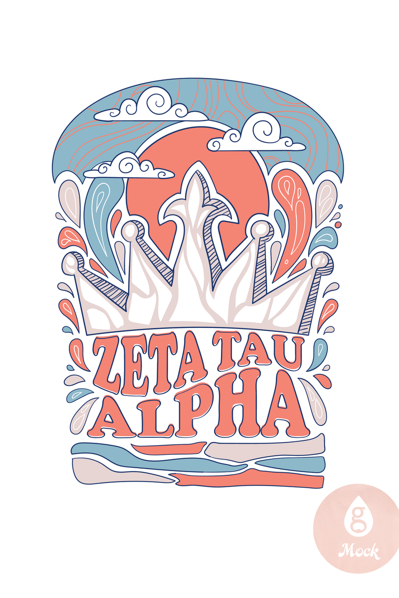 Zeta Tau Alpha Sky Crown