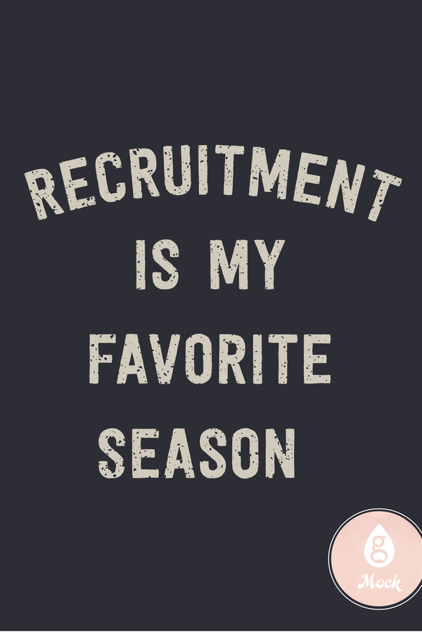 Zeta Tau Alpha Recruitment Season