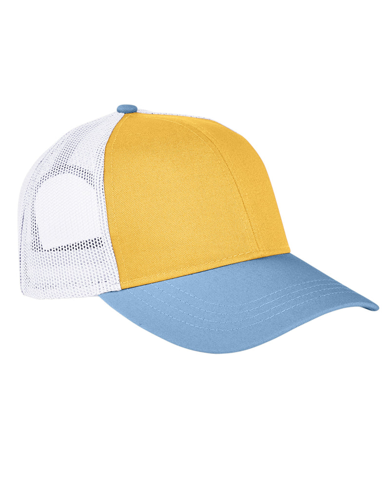 Authentic Pigment Tri-Color Trucker Cap