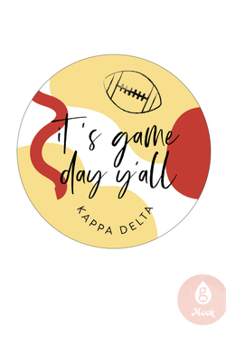 Kappa Delta Game Day Y'all