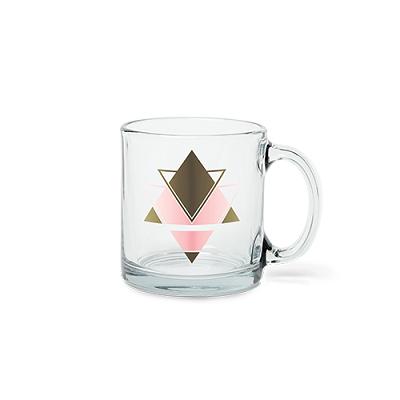 Straight Wall Glass Mug