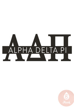 Pressed Cotton Alpha Delta Pi