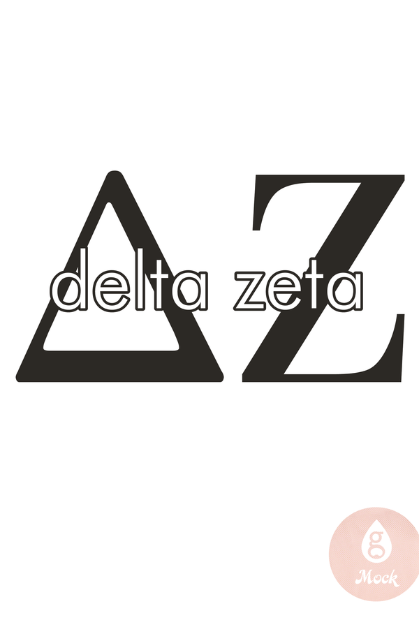 Pressed Cotton Delta Zeta