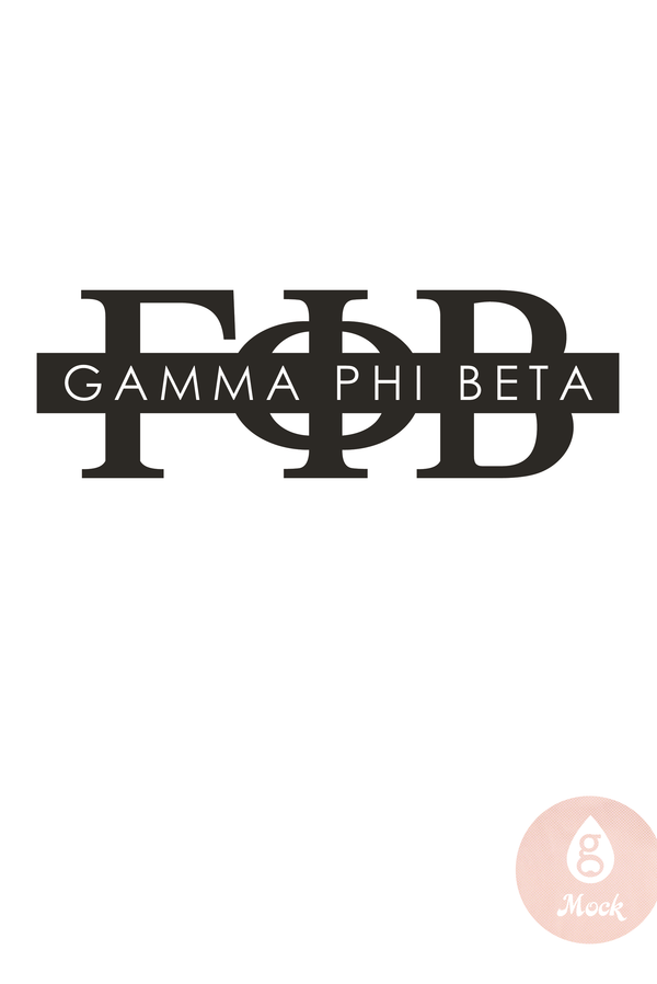 Pressed Cotton Gamma Phi Beta