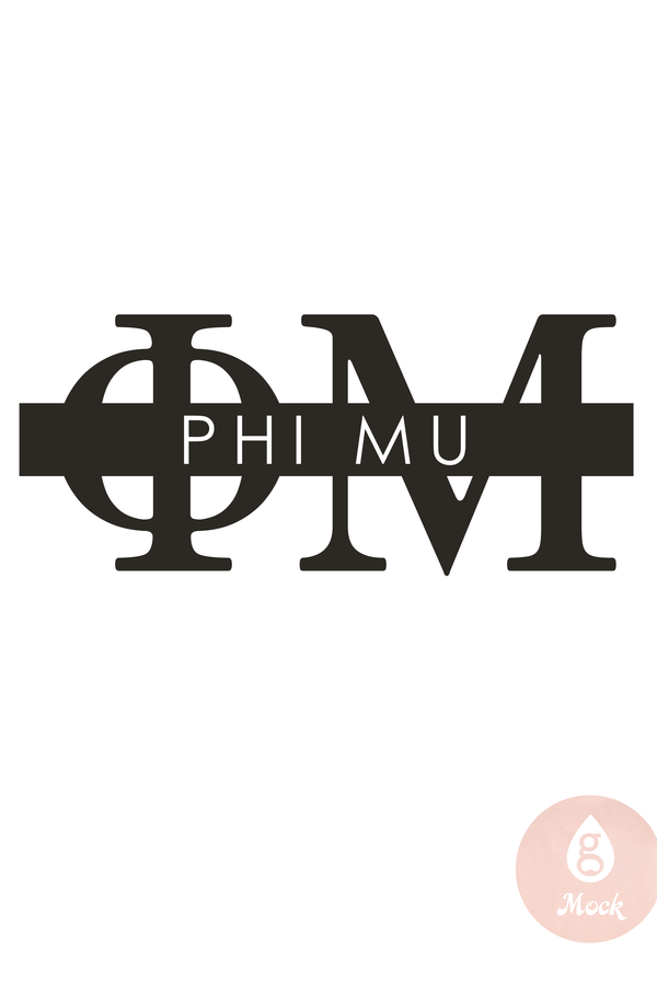 Pressed Cotton Phi Mu