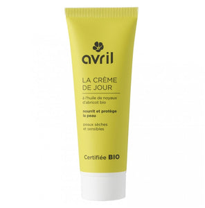 AVRIL FACE CREAM FOR DAY DRY & SENSITIVE SKINS 50ml - certified organic by ECOCERT